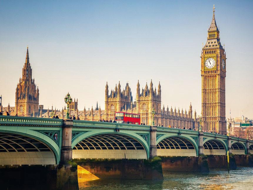 Big Ben auf Landausflug in London erleben